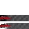 White Water Archery Non-Laminated Silent Assassin Black Carbon Fiber Fade 2 Arrow Wraps 15 Pc Pack Choose Length Width